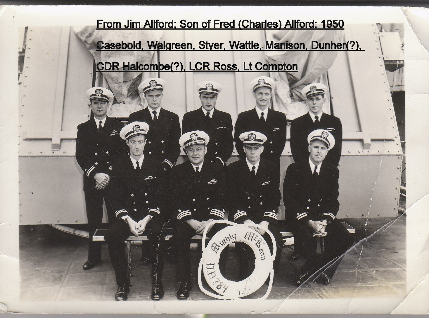 Officers Early 1950
