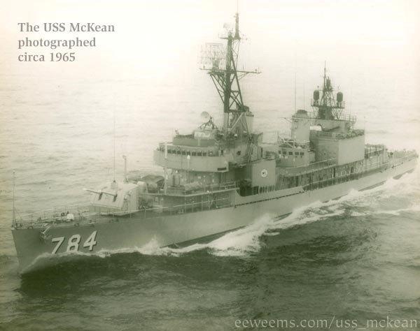 USSMcKean-Circa1965